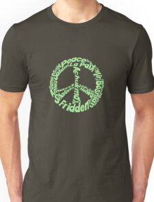 Peace in different languages Unisex T-Shirt
