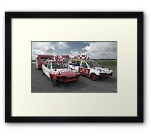 Team Muddle - Warton 24.8.08 Framed Print