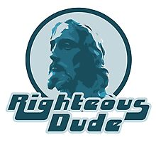 Righteous dude Jesus Christ Photographic Print