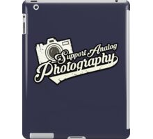 Analog Photography iPad Case/Skin