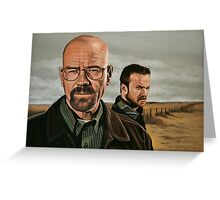 Breaking Bad painting Greeting Card