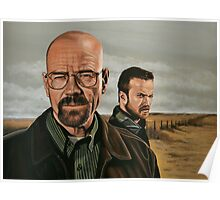 Breaking Bad painting Poster