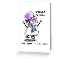 Woolly Wonka Greeting Card