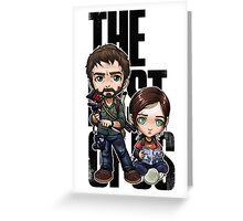 The last of us Chibi Greeting Card
