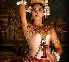 Apsara Dancer, Cambodia by Keith Molloy