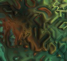 ocean floor two by DARREL NEAVES