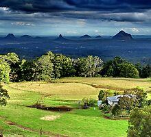 Farm wih a view by John Spies