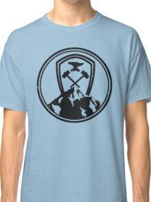 Redwall Themed Salamandastron Inspired Mountain Design Classic T-Shirt