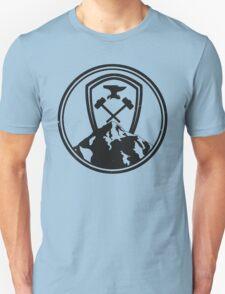 Redwall Themed Salamandastron Inspired Mountain Design Unisex T-Shirt