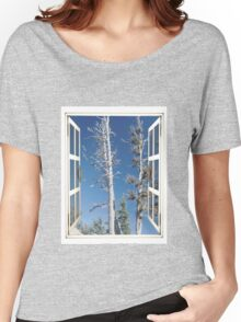White Bark Women's Relaxed Fit T-Shirt