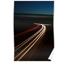 Car Lights A27 Poster