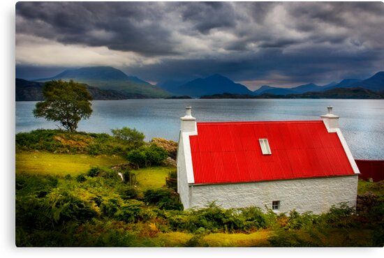 Loch Torridon, Summer Storm approaching. North West Scotland. by PhotosEcosse