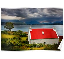 Loch Torridon, Summer Storm approaching. North West Scotland. Poster