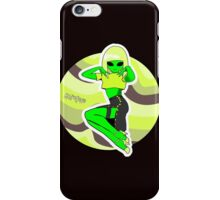 Alien Pin Up iPhone Case/Skin