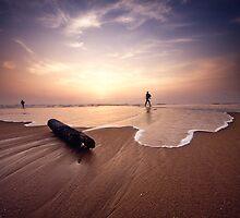 Sunrise In Chennai, India by rohitsabu