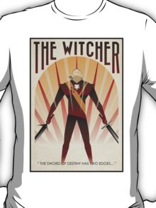 the witcher poster T-Shirt