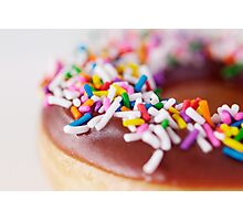 Sprinkled Doughnut Photographic Print