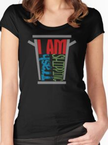 I am shipping trash Women's Fitted Scoop T-Shirt