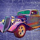 Ford Street Rod 1934 Art as Found in the Belly of a Whale by ChasSinklier