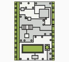 Metal Lab - Ghost Gear Green v2.1 - Danny Phantom Kids Tee