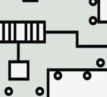 Metal Lab - Ghost Gear Green v2.1 - Danny Phantom Sticker