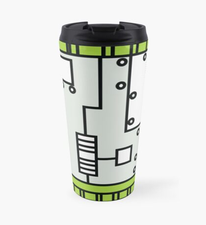 Metal Lab - Ghost Gear Green v2.1 - Danny Phantom Travel Mug