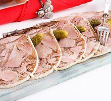 Pudding  pork  by Artur Mroszczyk
