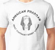 AMERICAN PHAROAH Kentucky Derby Winner - Black Unisex T-Shirt