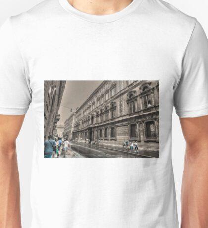 via del corso .. Roma T-Shirt