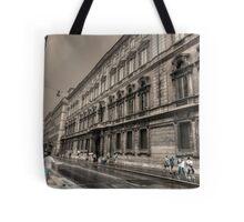 via del corso .. Roma Tote Bag