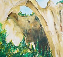 ARCHES painting by schiabor