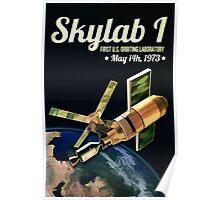 Skylab 1 Space Laboratory Poster