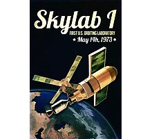 Skylab 1 Space Laboratory Photographic Print