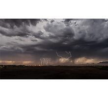 Lightning over Scottsdale Photographic Print