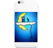 Doctor Who in the clouds iPhone Case/Skin