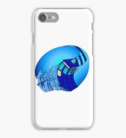 Timey Wimey Tardis iPhone Case/Skin