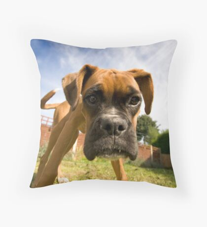 Big Head Throw Pillow