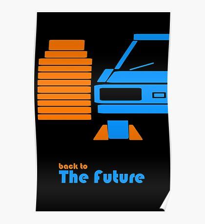 Delorean Poster