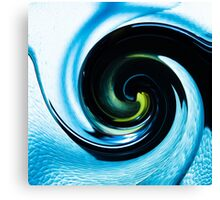 Blue Vape Canvas Print