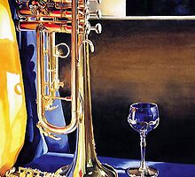 """""""High Notes"""" Watercolor by Paul Jackson"""