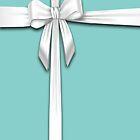 Tiffany Blue Box by SecondArt