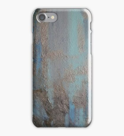BLUE AND GOLD(C2012) iPhone Case/Skin