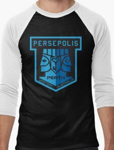 PERTH ANOMALY LOGO - Large Men's Baseball ¾ T-Shirt
