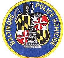 Baltimore Police Homicide by lawrencebaird