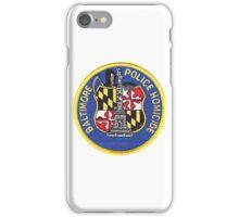 Baltimore Police Homicide iPhone Case/Skin