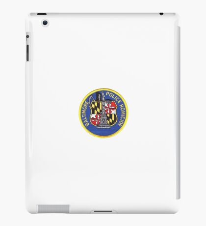 Baltimore Police Homicide iPad Case/Skin