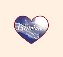 Cleveland Heart by designsbyebeal