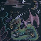 Shimmery Dragon by Patricia Anne McCarty-Tamayo