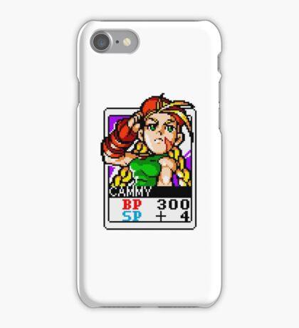 Cammy - Street Fighter iPhone Case/Skin