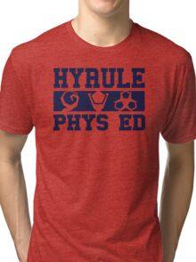 Hyrule Phys. Ed. Tri-blend T-Shirt